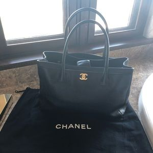 Gorgeous and functional Chanel tote